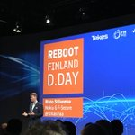 """""""Adopting new technology is easy. Truly changing your business is difficult."""" #ddayfi #RebootFinland"""