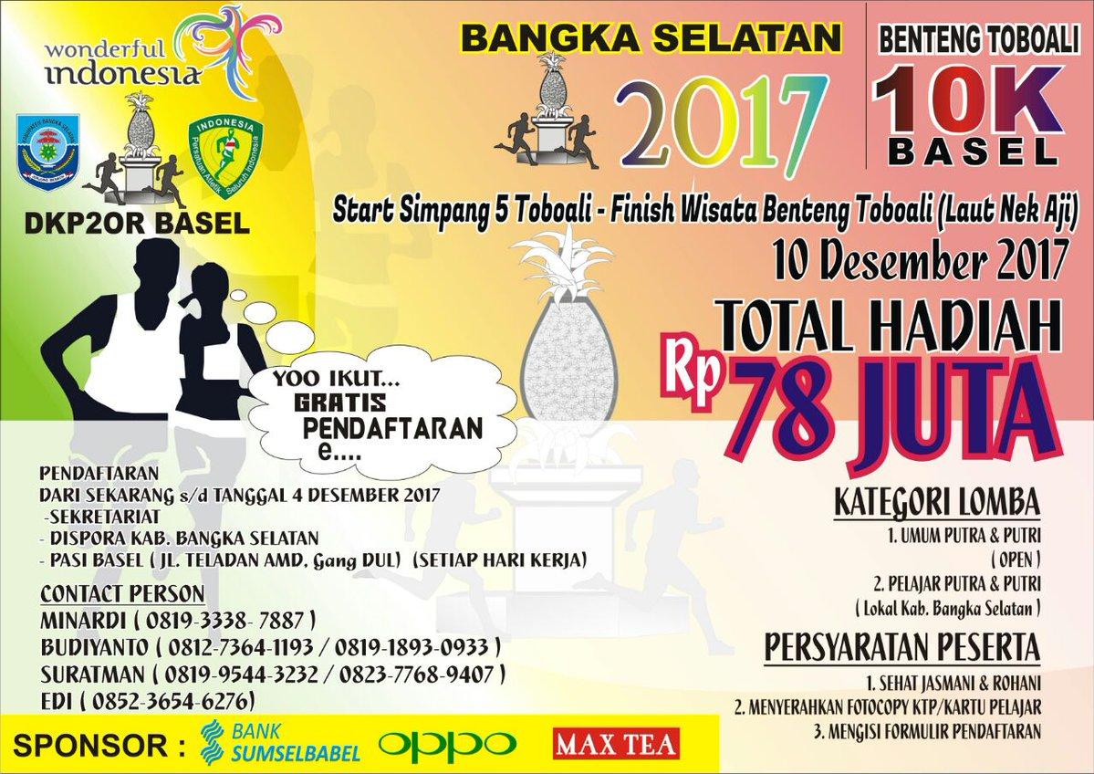Benteng Toboali 10K • 2017
