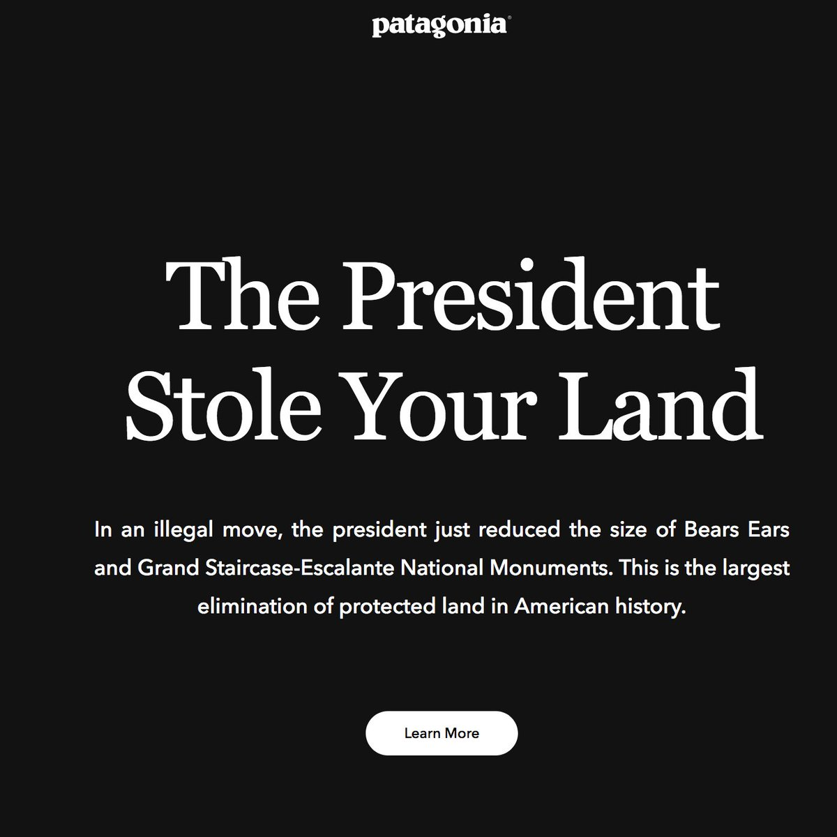 Dear non-Native folks, @patagonia is right to oppose #Trump shrinking #BearsEars but it is not &quot;Your Land.&quot; It is Native land  It is home to Indigenous sacred sites that five Native nations campaigned to protect  #BearsEarsNationalMonument #ProtectBearsEars #Patagonia #decolonize <br>http://pic.twitter.com/hUixdZtAAa
