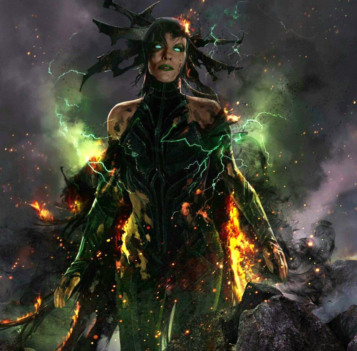 New official Hela art shows her burned...