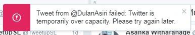 #TwitterDown Latest News Trends Updates Images - DulanAsiri