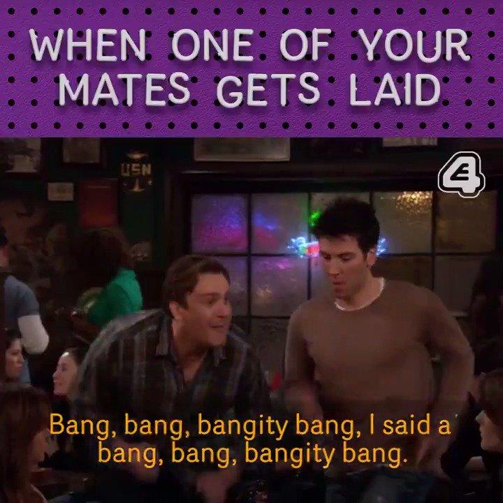 🎵 A bang bang bangity-bang, I said bang...