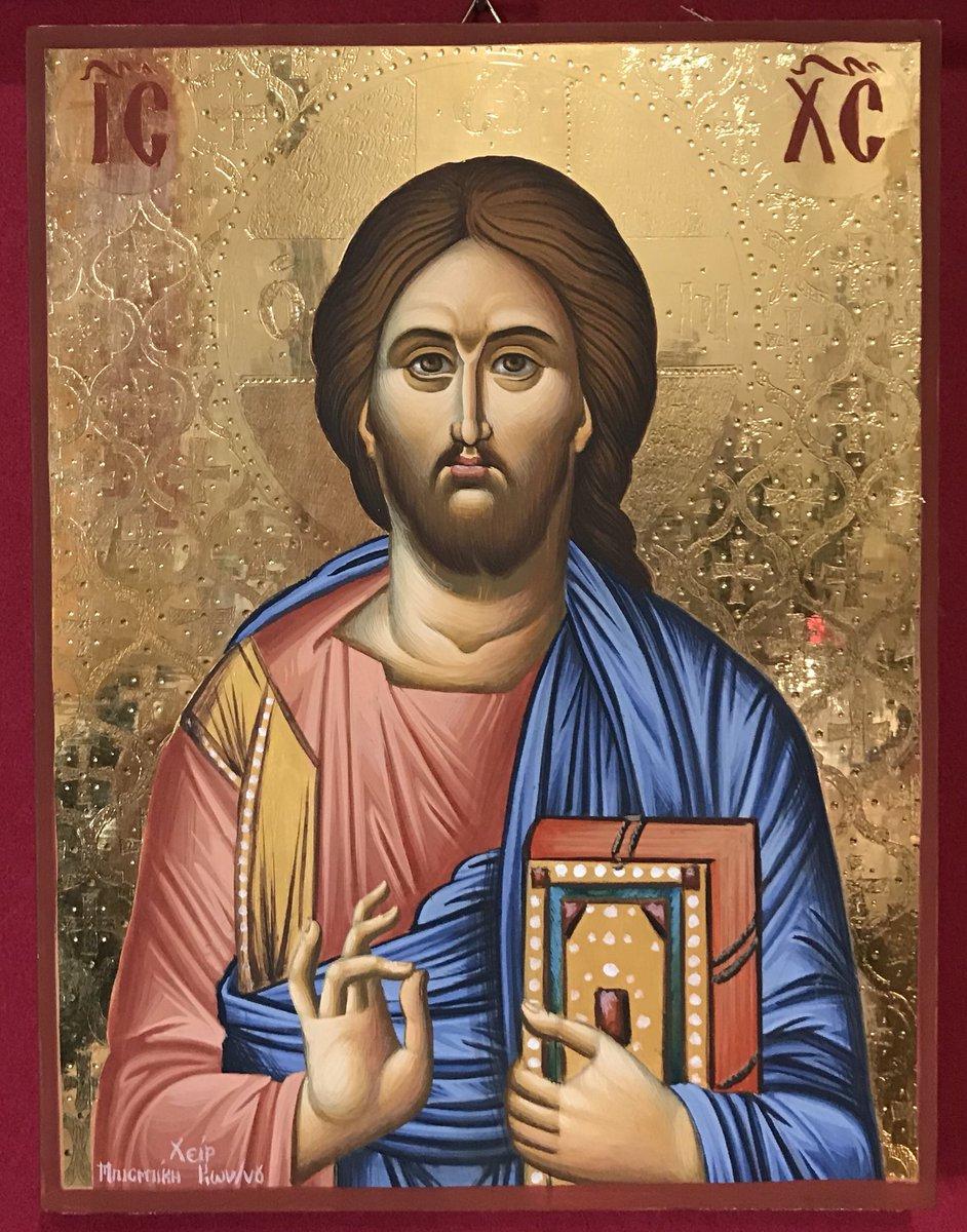 «ΙΗΣΟΥΣ ΧΡΙΣΤΟΣ» (διάσταση 25χ20, στιλβωτο χρυσο 24Κ με τσουκανικο)