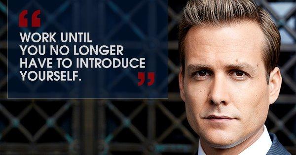 Witty one-liners by #HarveySpecter that are the secret to his success:  http:// bit.ly/2AU2Y3Q  &nbsp;   #TuesdayThoughts<br>http://pic.twitter.com/rStn2cvust