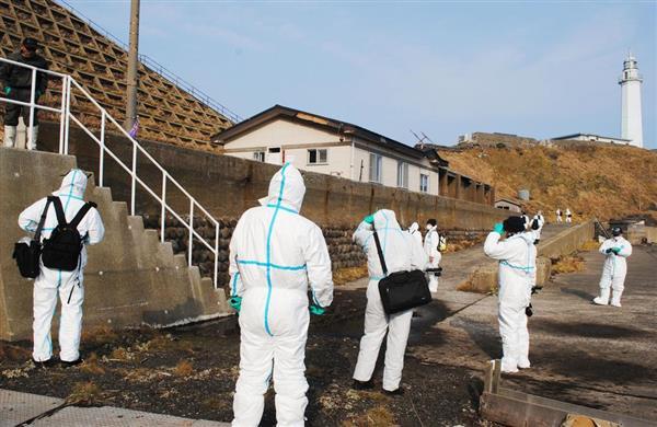 北朝鮮船避難の北海道・松前小島 小屋荒らされ「一から十まで全てない」と漁業関係者 →中にあった家電品…