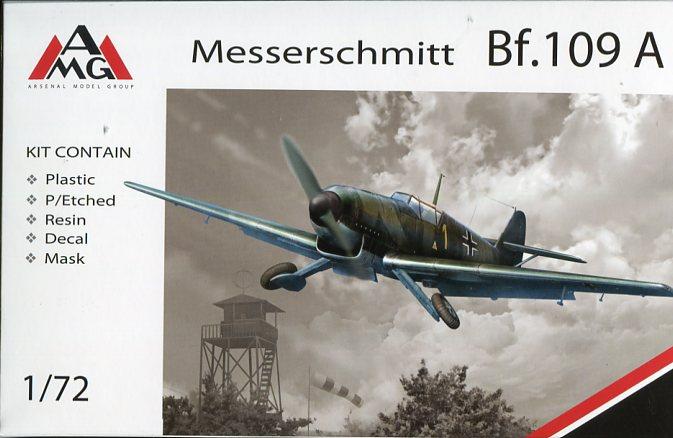 AMG Models 72405 Messerschmitt Bf.109 C1-1:72   *** NEW ***