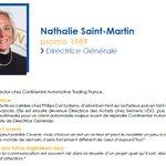 #SuccessStory #Alumni @ISEP : Nathalie Saint-Martin (Promo 1989), Managing Director chez Continental Automotive Trading France nous conseil de préparer notre monde de demain.