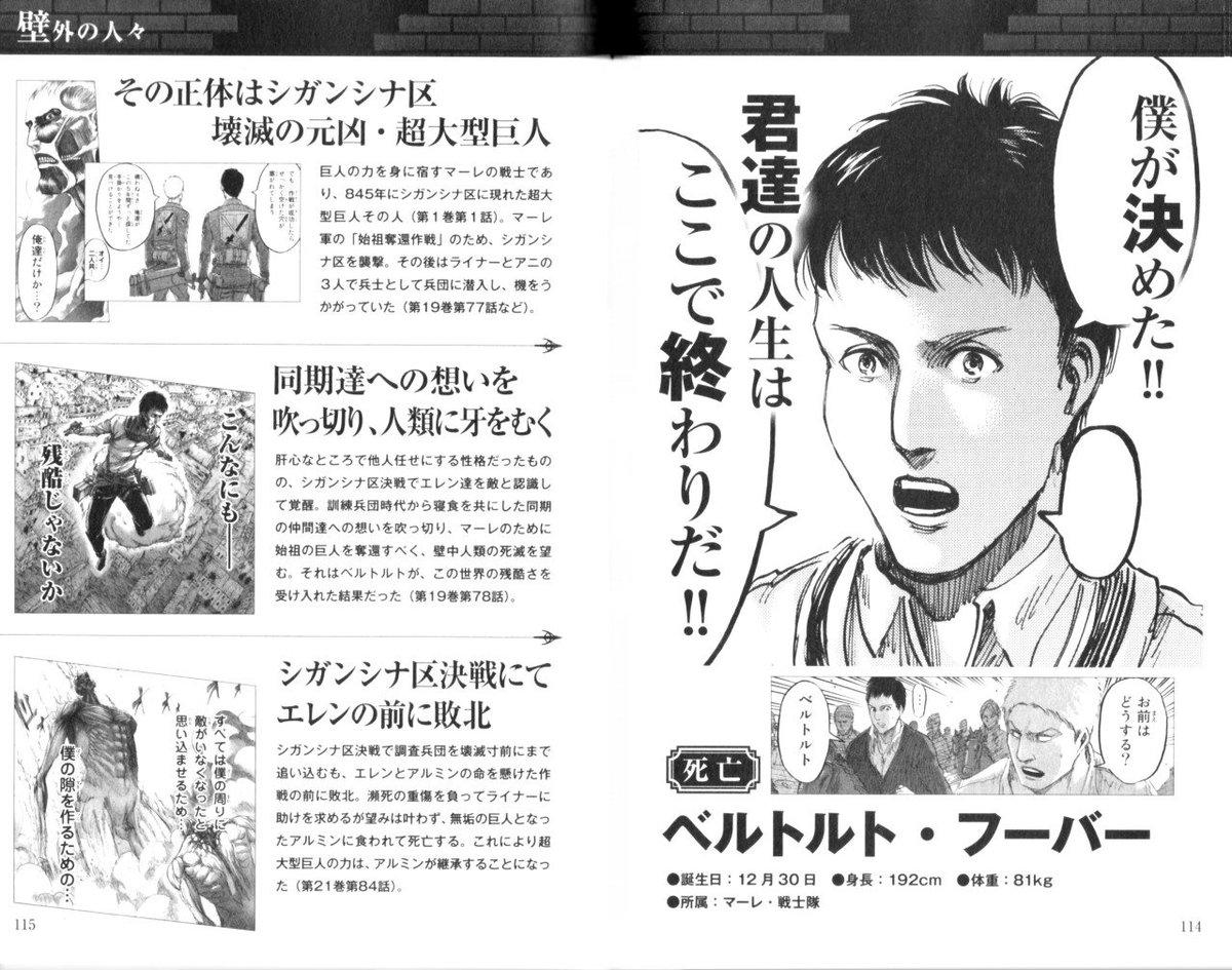 Attack Titan Wiki Twitter Manga Spoilers Bertolt – Fondos de Pantalla