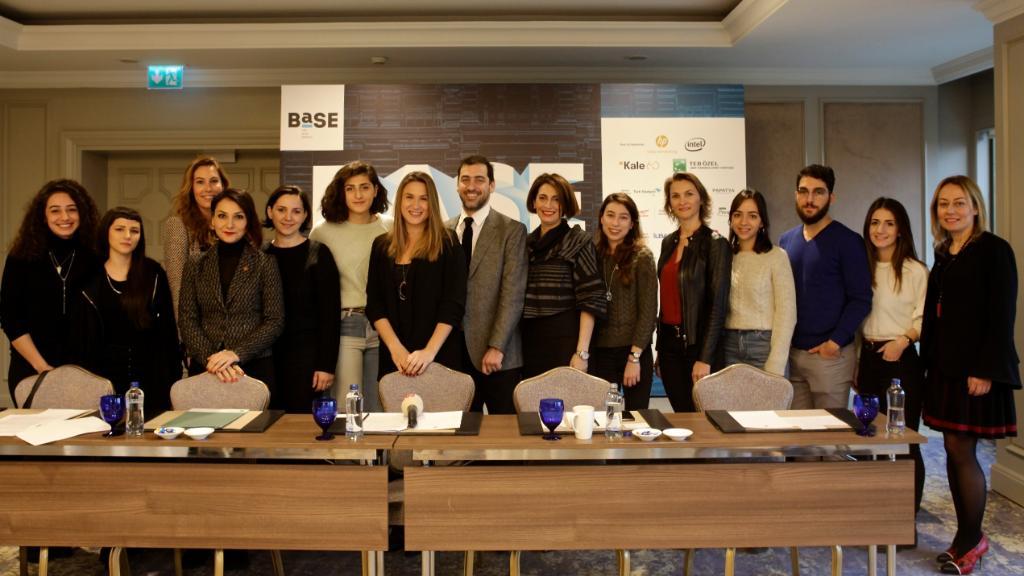 Genel Müdürümüz @FilizAkdede, Türkiye'nin yeni sanat buluşması @base_istanbul'un basın toplantısında.