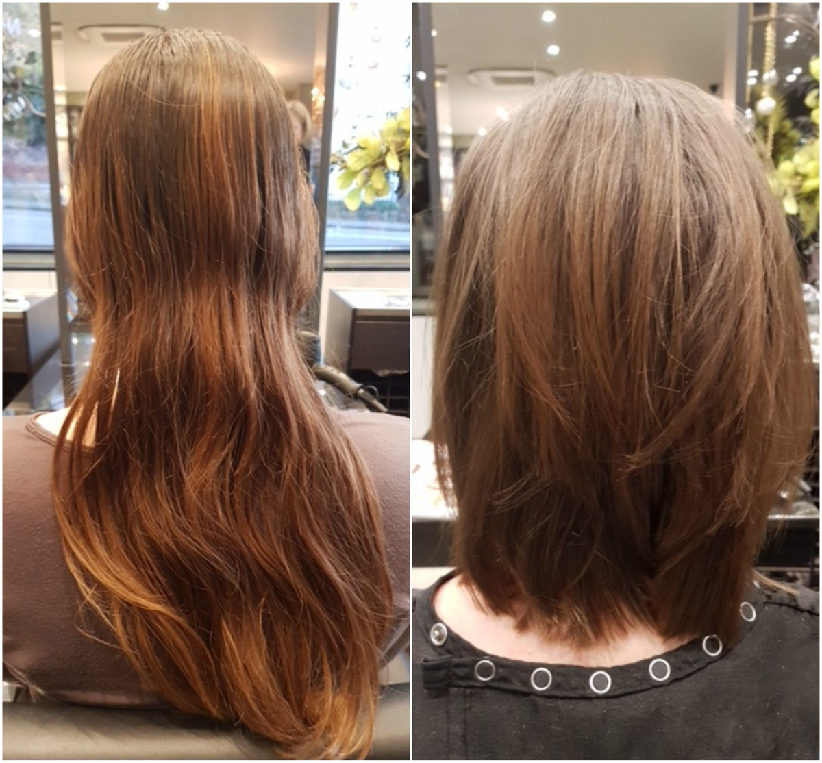 Julia Lampard Salon On Twitter Before And After Hair Cut From Long