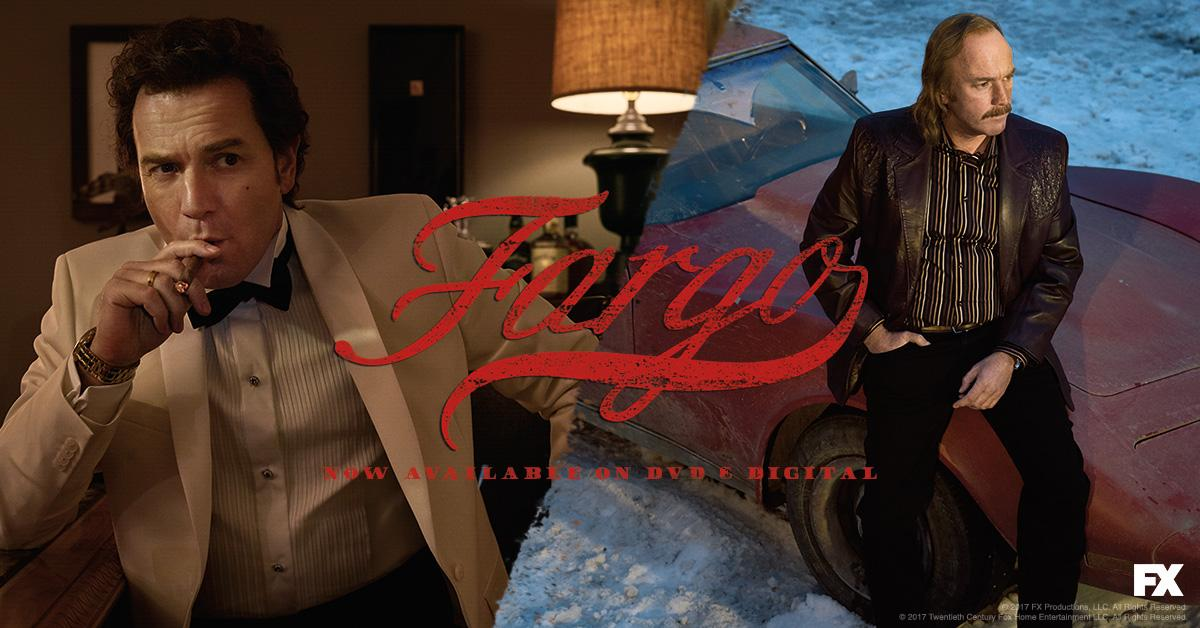 #Fargo Year 3 is now available on DVD and Digital, dontcha know. amzn.to/2ildMNo