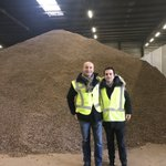 Image for the Tweet beginning: .@wespecialty visited Cocoa warehouse in