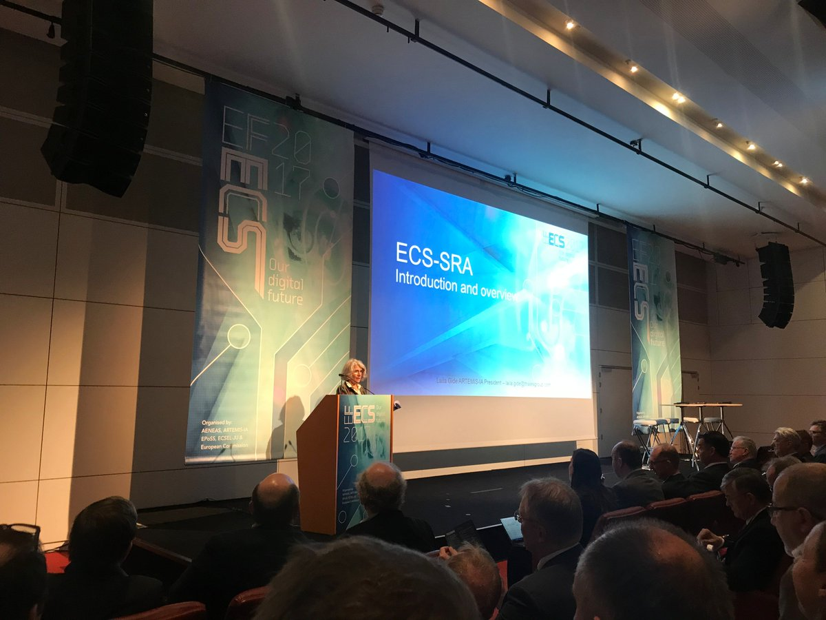 Mateusz Bonecki On Twitter Laila Gide Strategic Research Agenda Introduction To Electronic Components For And Systems During Efecs2017 Conference In Brussels