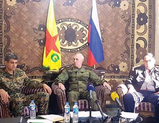 YPG, Russia meeting 'evaluated steps to take' after ISIL: Russian defense ministry https://t.co/fqOS6XQ8sT