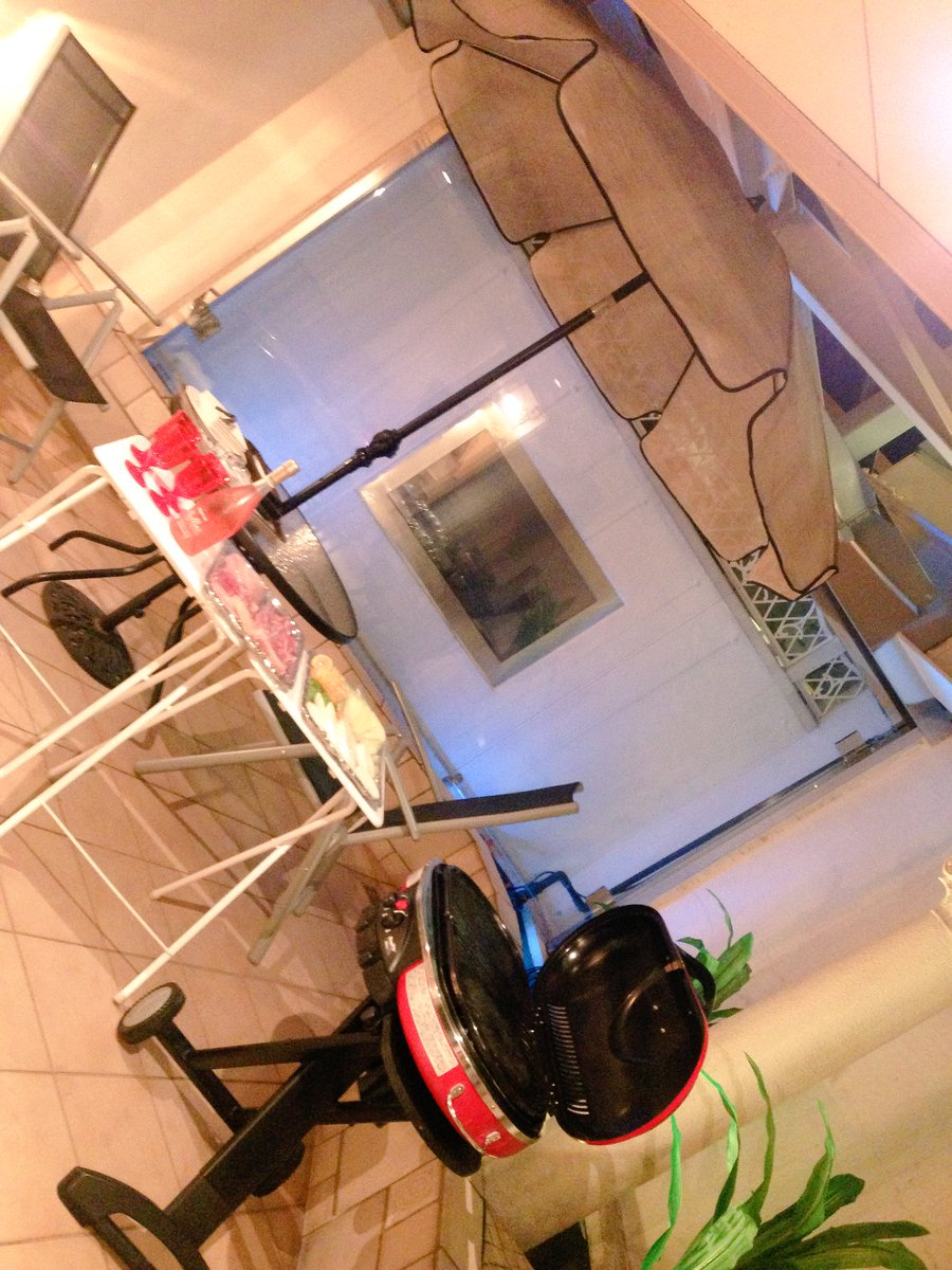 名古屋にね、2フロアぶち抜きの本気仕様のウォータースライダー+バーベキューができるバルコニー完備+ス…