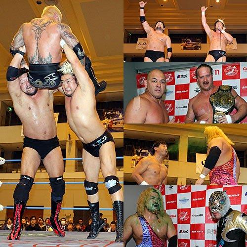 """AJPW: Resultados """"Real World Tag League"""" Kento Miyahara y Yoshitatsu se afianzan en la cima 8"""