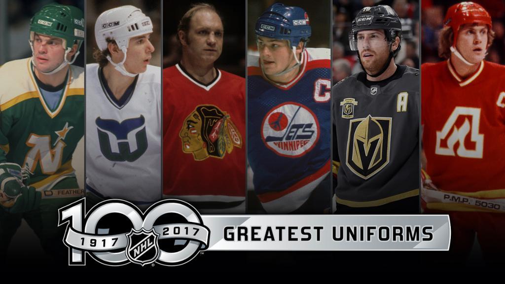 9594fcae4  Top5  Tuesday  StellickSimmer  TopFive  NHL  uniforms  jerseys not from  original 6. Call NOW 1-877-645-6696 or tweet us  GordStellickpic.twitter.com   ...
