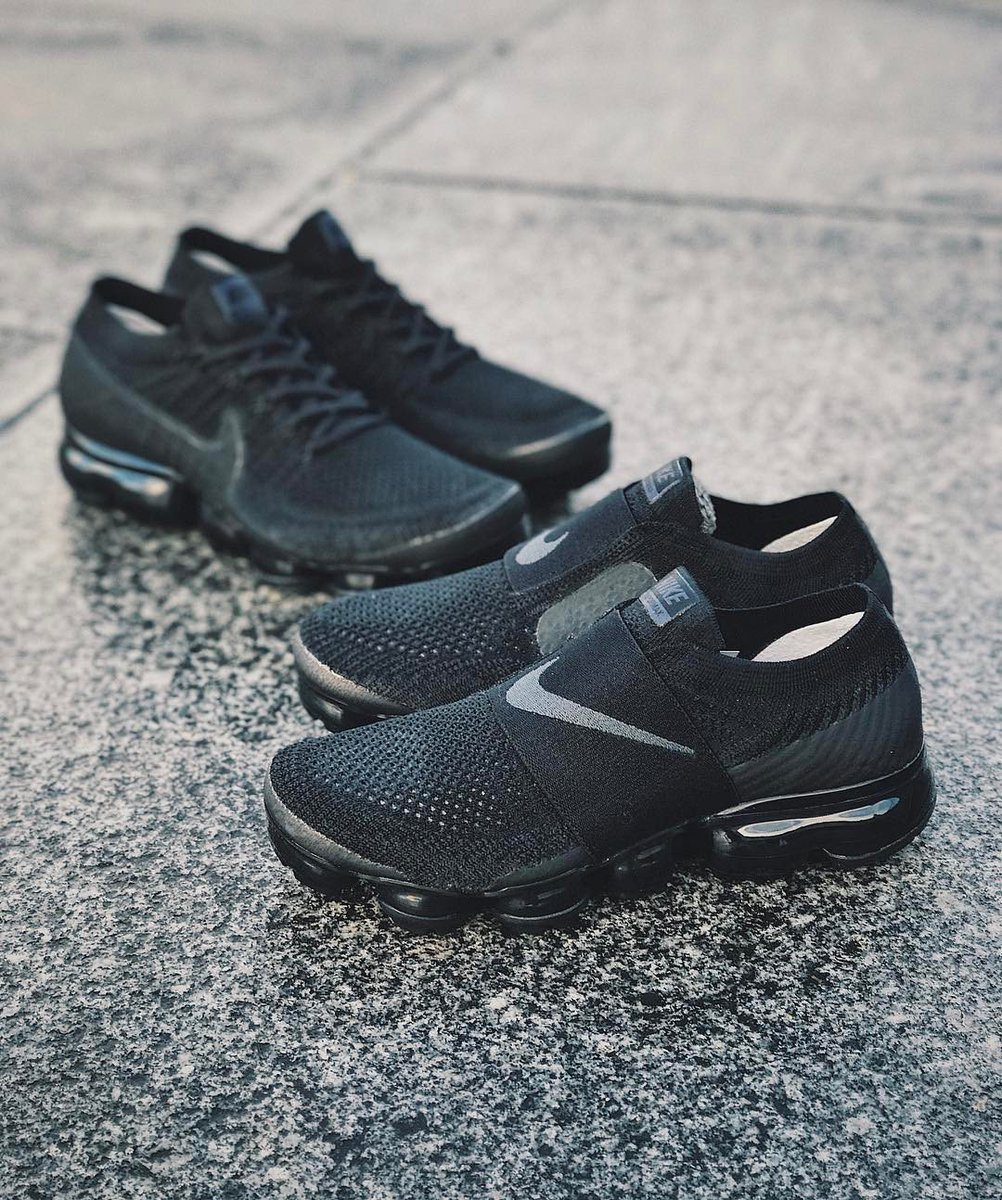 1b6fab79d97 ... the  nikesportswear Vapormax has seen a number of releases this year.  Most recently the introduction of the laceless Vapormax Moc   http   bit.ly 2AqoUCY ...