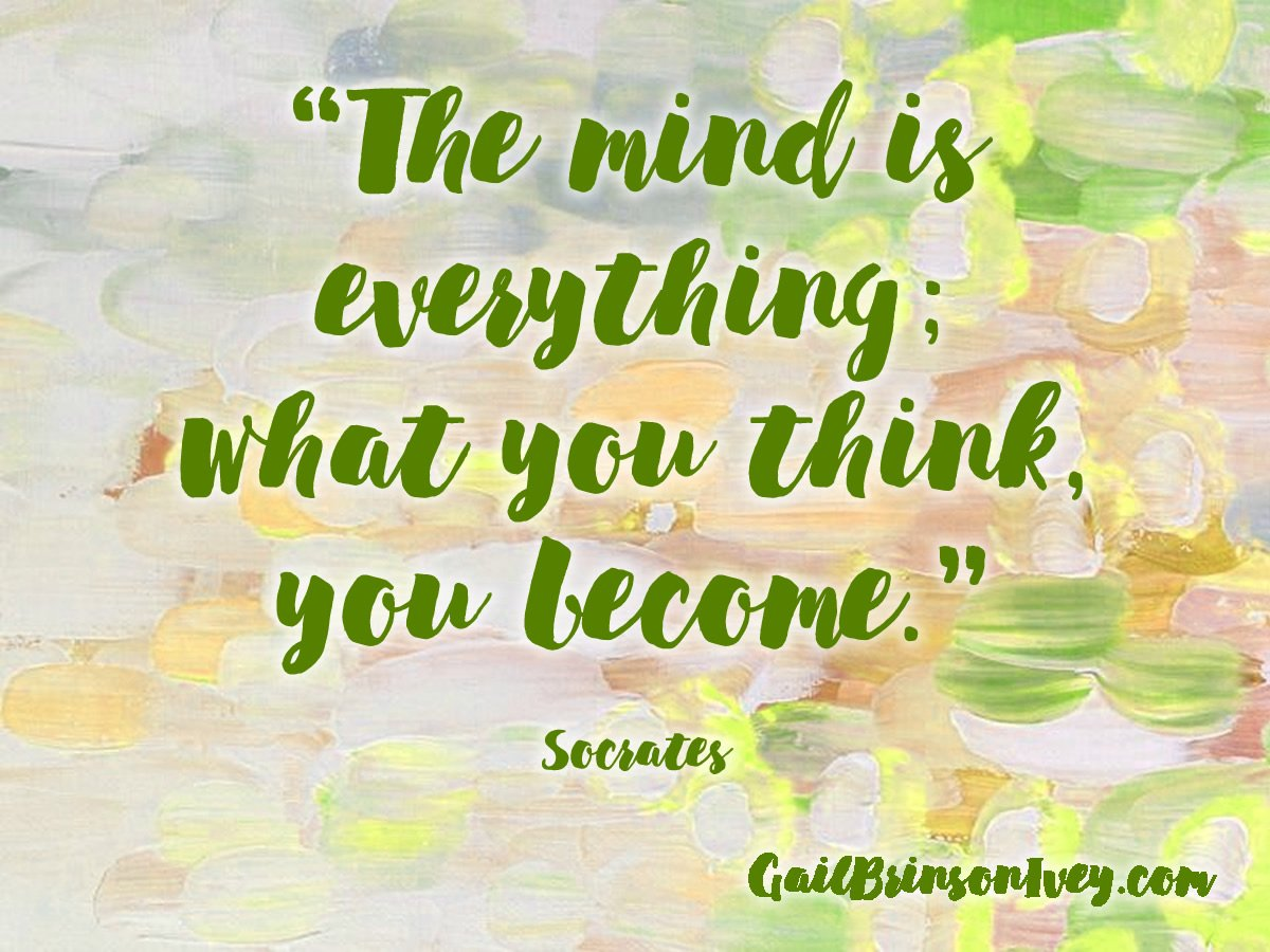 Think It ~ Be It    #Socrates  #positivethinking<br>http://pic.twitter.com/eemKm6HP5L