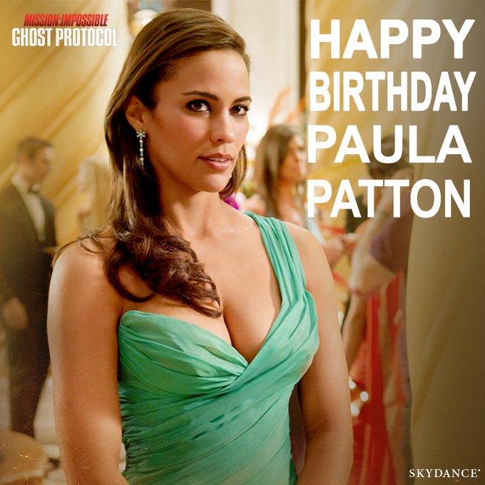 Happy Birthday to - Ghost Protocol actress Paula Patton!