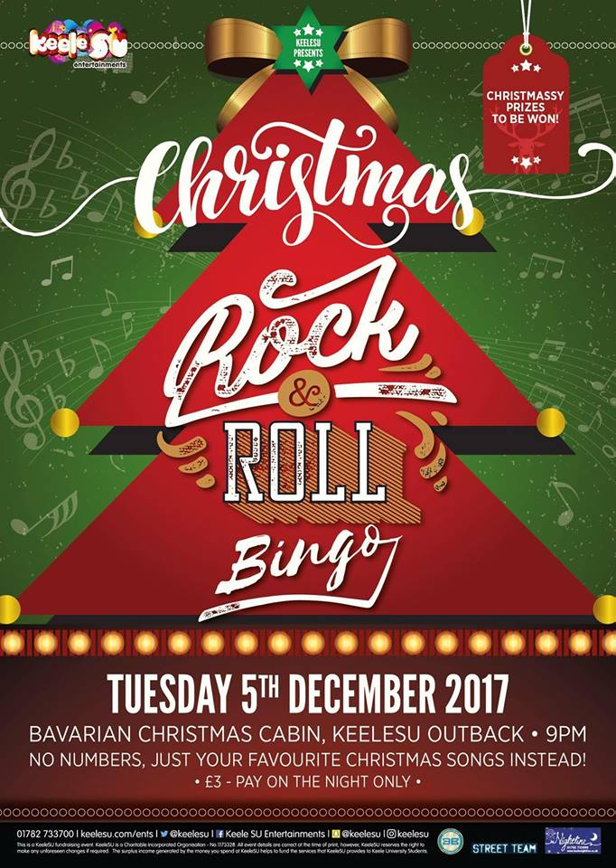 no bingo numbers just the best christmas songs and some of the top hits of 2017 well be giving away some great prizes and its only 3 per person - Best Christmas Rock Songs
