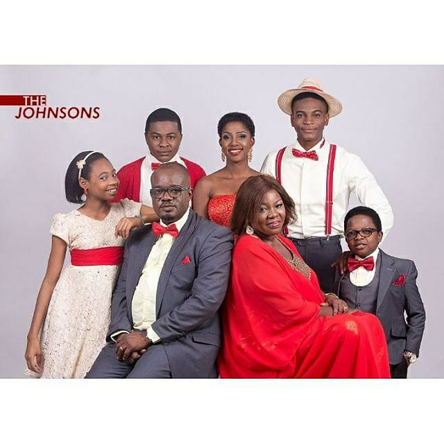 The entire and crew of THE JOHNSONS