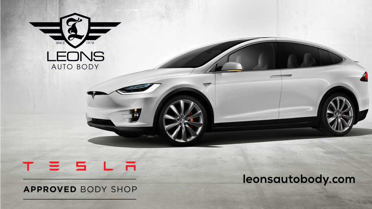 ... that we are now an Official Tesla Approved Body Shop!!! We are Excited  to offer Tesla Owners the quality and expertise they expect!