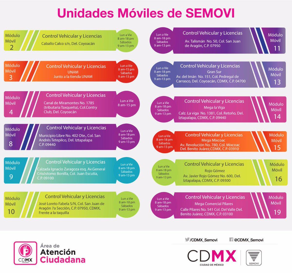 Secretaría De Movilidad Cdmx On Twitter Buen Día Por El