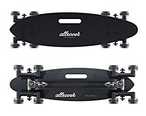 Stair-Rover by Allrover: Surf the city with an all urban terrain longboard:  Ama...