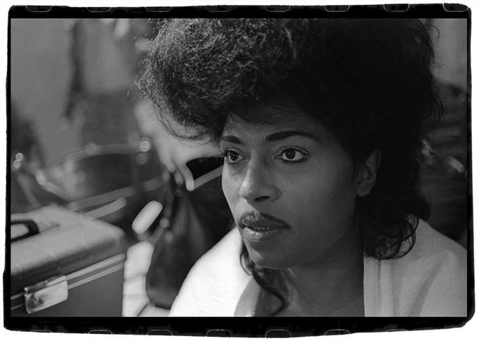 Happy 85th birthday to Little Richard. Photo by Stephanie Chernikowski, 1975.