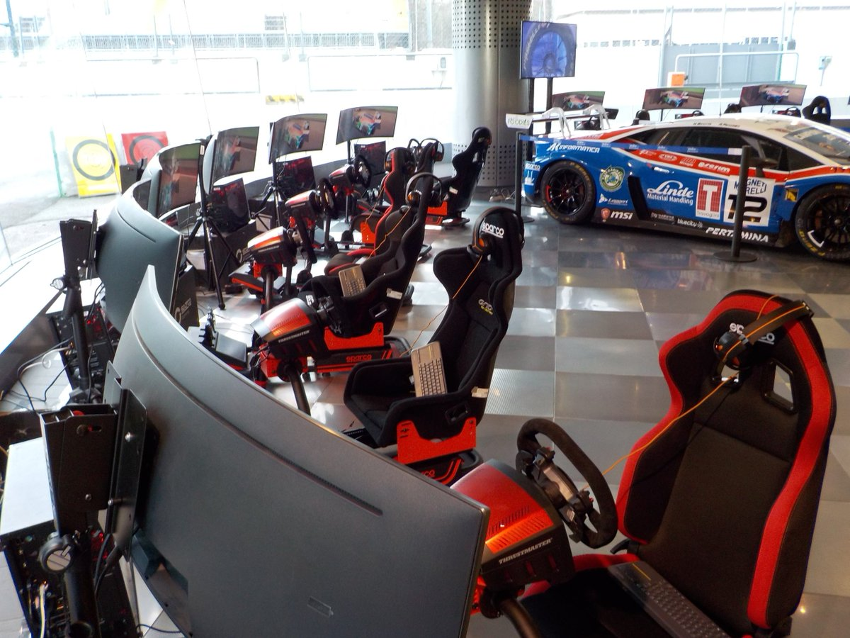 Thrustmasterofficial On Twitter Sparco Was At The Monzarallyshow Thrustmaster Ts Xw Racer New For 3 Days Presenting Gaming Experience With Our Pods Check Out Views