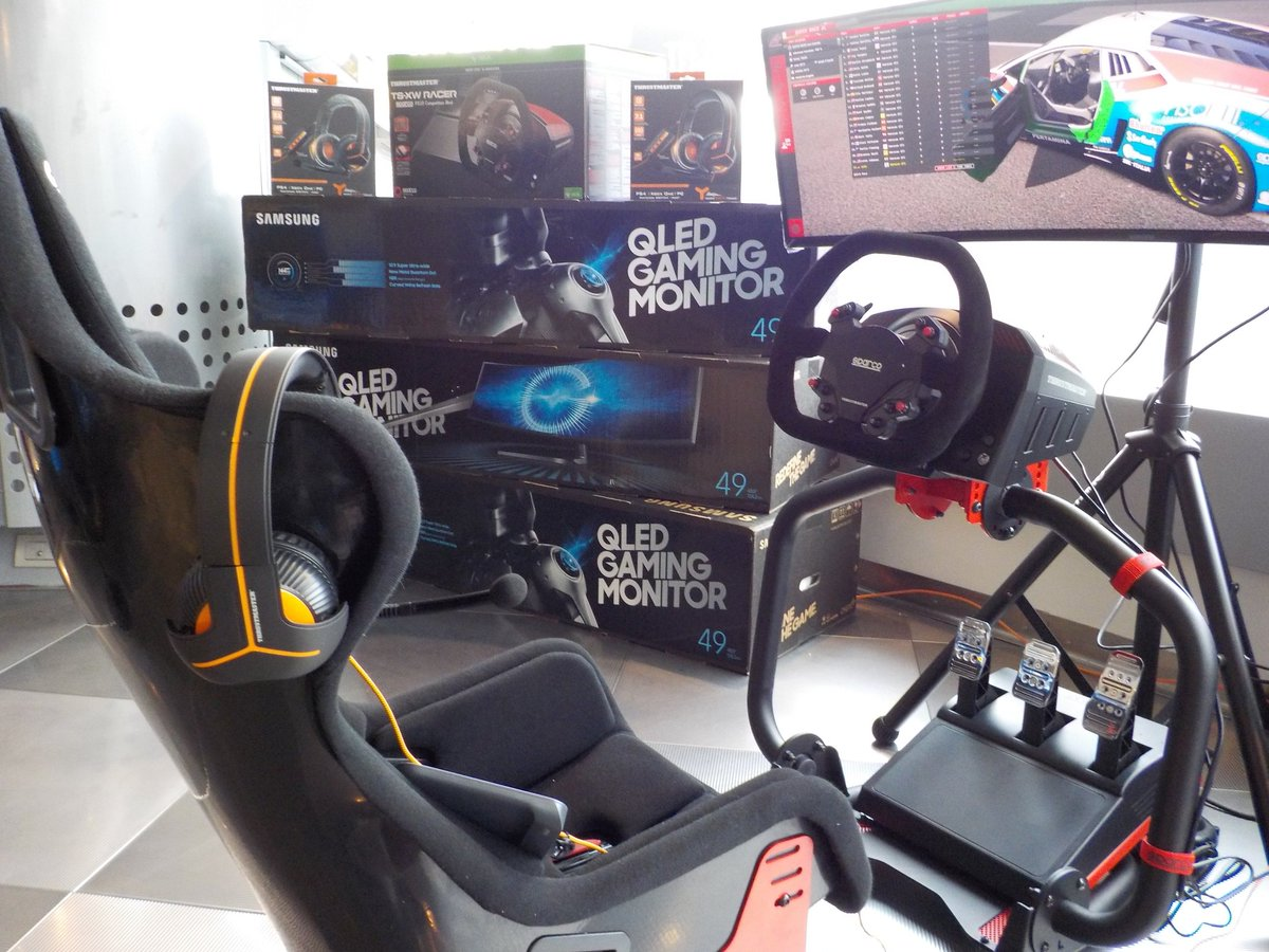 Thrustmasterofficial On Twitter Sparco Was At The Monzarallyshow Thrustmaster Ts Xw Racer New 900 Am 5 Dec 2017