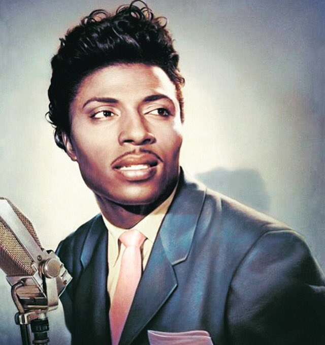 "\""I did what I felt, and I felt what I did, at all costs\"" Little Richard. Happy Birthday!"