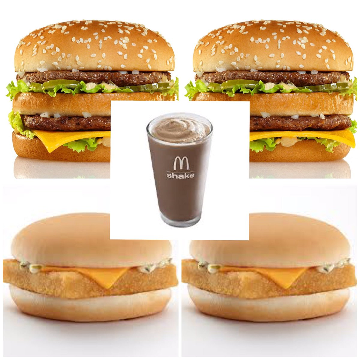 Richard Southern On Twitter A New Book Has Revealed Donald Trumps Favourite Mcdonald S Order Two Big Macs Two Filet O Fish One Large Chocolate Shake 2 430 Calories Https T Co Oymrqz17hl