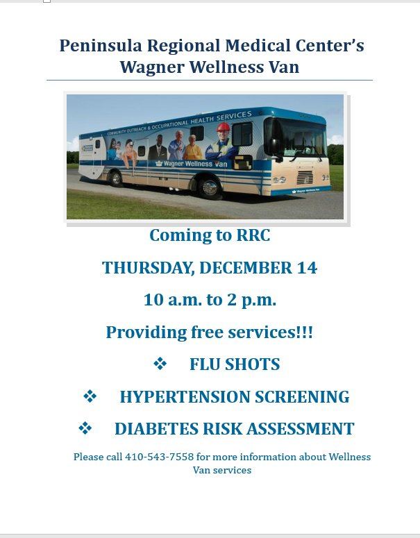 Wagner Wellness recoveryresource ctr on prmcsalisbury will be providing