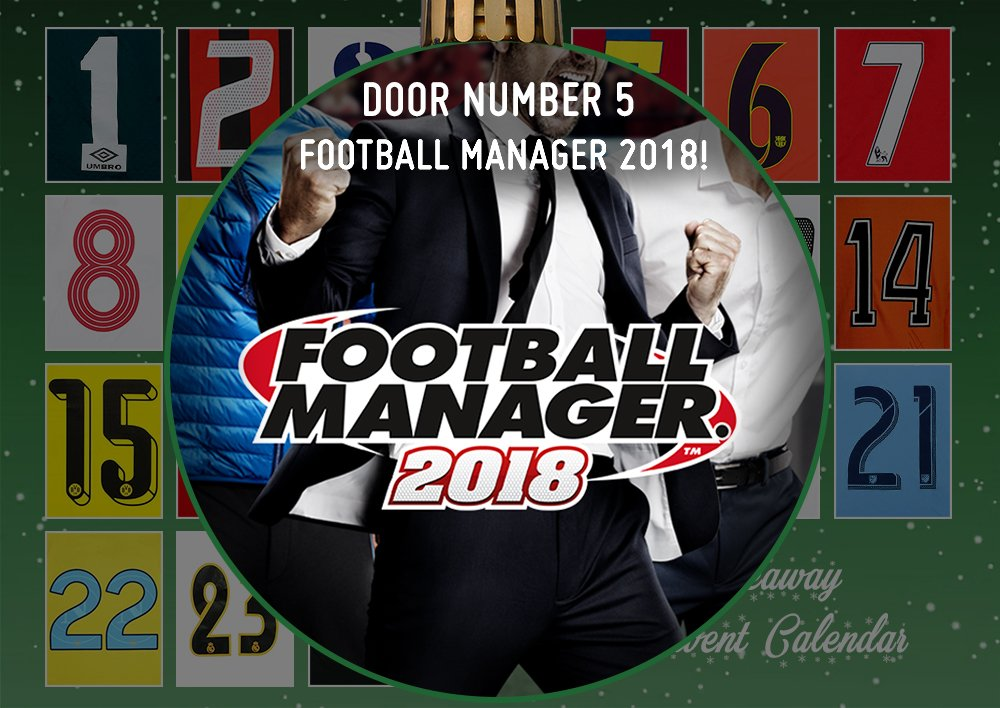 ???? Giveaway number 5 - Football Manager 2018 ????   #Retweet and #Follow us to enter - Good Luck https://t.co/GVovuyKZ46
