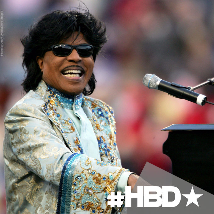 Happy birthday to Rock \n\ Roll Hall of Famer, Little Richard!