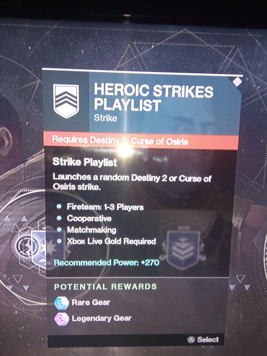 Destiny Strike matchmaking site