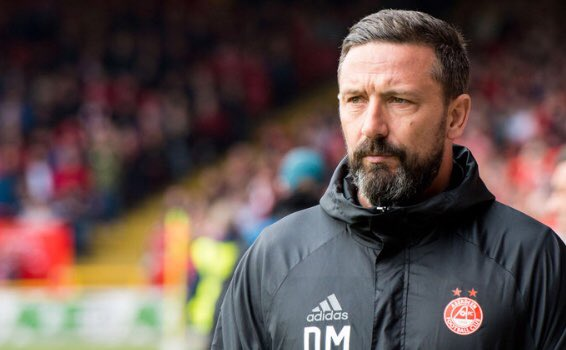 Breaking News - Aberdeen has announced this evening that Rangers have contacted the Club asking for permission to speak to Derek McInnes and that permission has been refused @AberdeenFC
