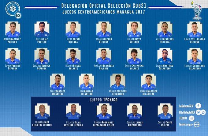 Sub21: Juegos Centroamericanos - Nicaragua 2017. [Medalla de Bronce] DQTmlgOXcAE3vcI