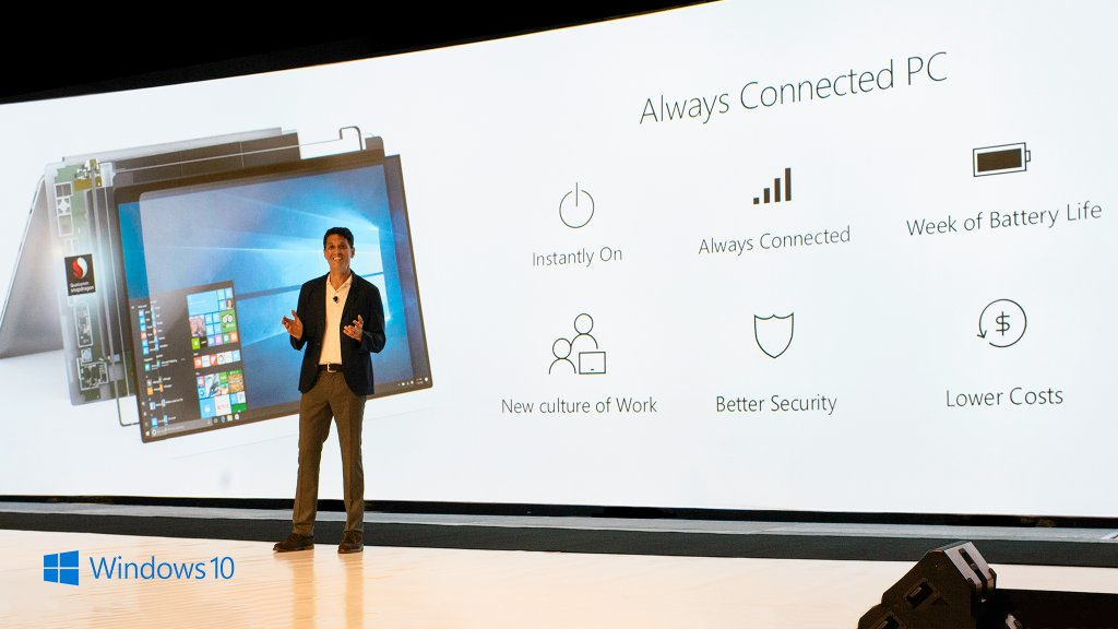 'Imagine a PC that's instantly on and always connected to the internet. Read how Always Connected PCs enable a new culture of work: https://blogs.windows.com/windowsexperience/2017/12/05/always-connected-pcs-enable-a-new-culture-of-work/?ocid=BlogSupport_soc_omc_win_tw_Photo_lrn_QualcommTerry #SnapdragonSummit' from the web at 'https://pbs.twimg.com/media/DQToPJEXkAAjwI7.jpg'