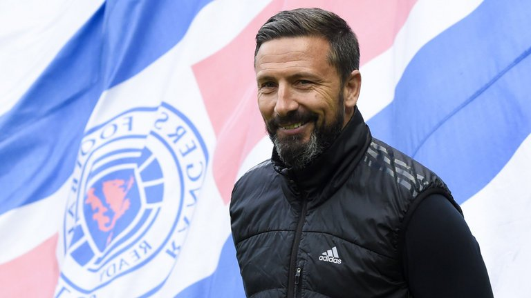 BREAKING: Aberdeen refuse Rangers permission to speak to Derek McInnes over the managerial vacancy at Ibrox. #SSN
