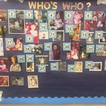 The students are having fun guessing which one is their teacher?  #whoswho #TheCraigSchool