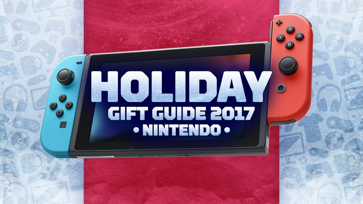 The best #Nintendo gifts for 2017!  https://t.co/xcJR8q1fOD