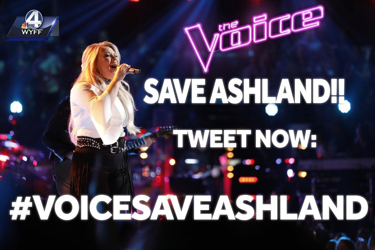 Use the hashtag to tweet #voicesaveashland to SAVE HER!!!!!!  HELP SAVE ASHLAND!!! TWEET NOW