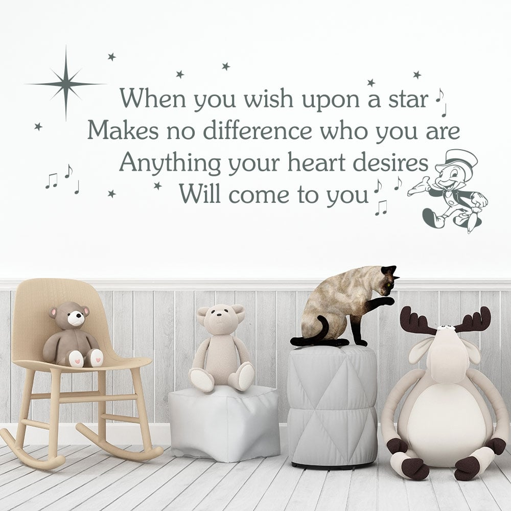 Walt disney wall stickers gallery home wall decoration ideas wallstickers hashtag on twitter made an awful lot of these walt disney when you wish upon amipublicfo Image collections