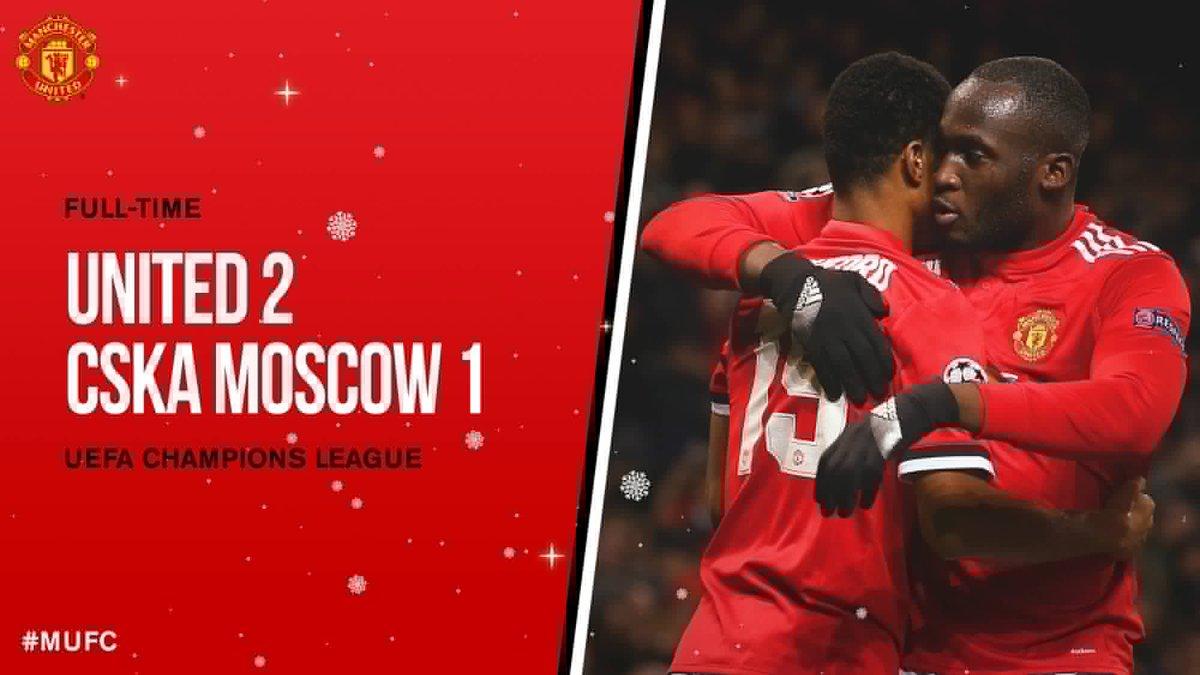 Chấm điểm trận Manchester United 2-1 CSKA Moscow
