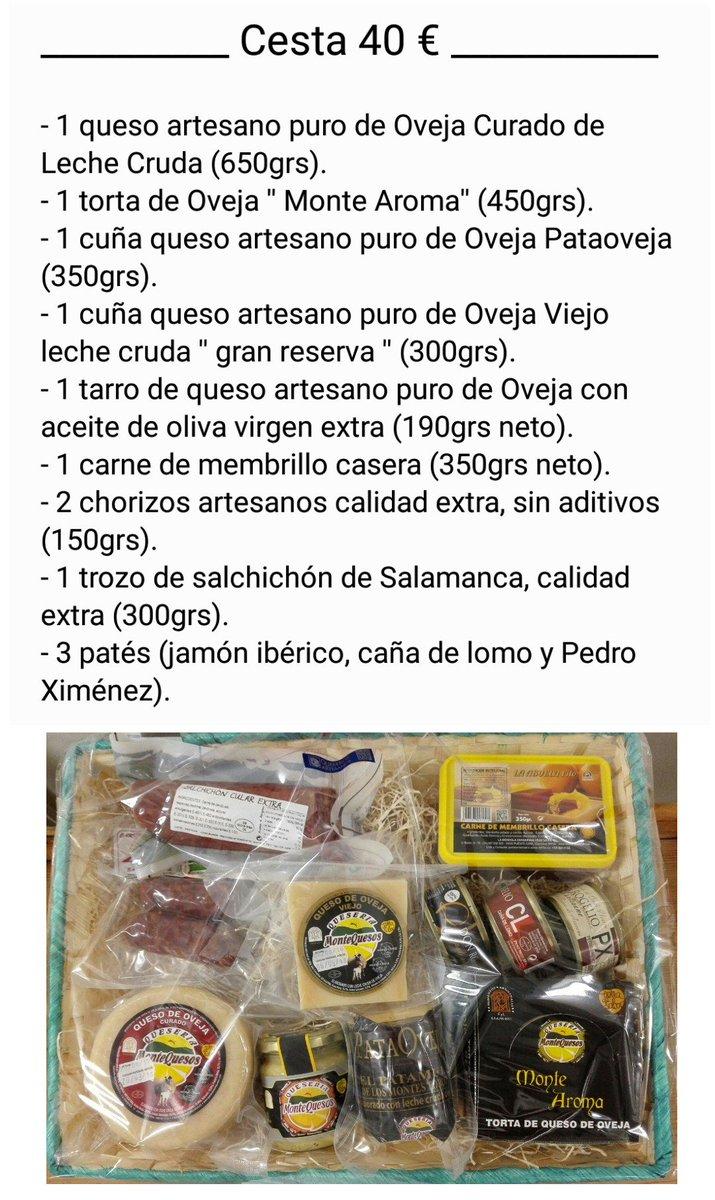 #regalasabor #cestas #Quesos #alimentosdevalladolid #TierraDeSabor #montequesos