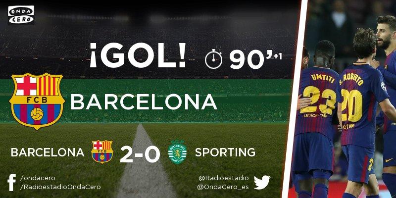 Chấm điểm trận Barcelona 2-0 Sporting Lisbon