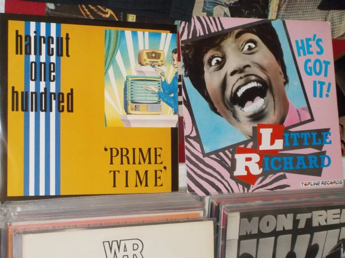 Happy Birthday to Les Nemes of Haircut 100 & Little Richard